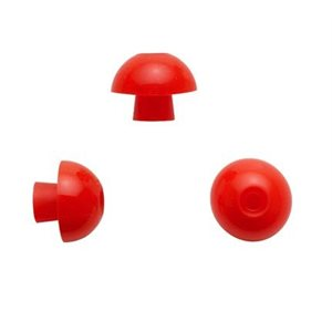 Sanibel ADI Series Single Use  Mushroom-Shaped Eartips - Red, 14mm (100 / bag)