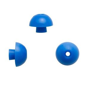 Sanibel ADI Series Single Use Mushroom-Shaped Eartips - Blue, 15mm (100 / bag)