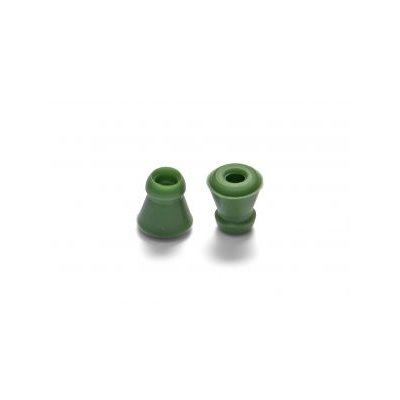 Sanibel ANA Silicone Eartips - Green, Mushroom (50 / bag)