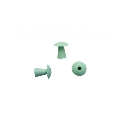 Sanibel ATE Silicone Umbrella-Shaped Eartips - Green, 16mm (100 / bag)