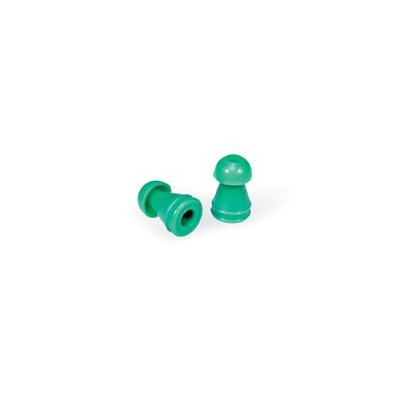 Grason KR Series Single Use Eartips - 10mm, Green (100 / pk)