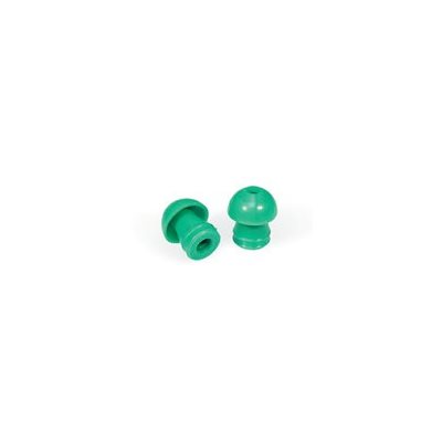 Grason KR Series Single Use Eartips - 14mm, Green (100 / pk)