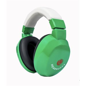 HearMuffs Passive for Kids - Green