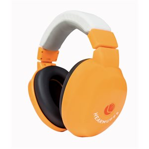 HearMuffs Passive for Kids - Orange