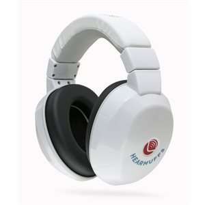 HearMuffs Passive for Kids - White