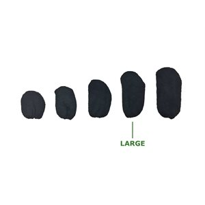 Hearing Aid Sweat Bands - Large Black
