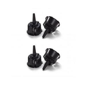 Probe Cones for Maico Ero-Scan PRO - Black (4 / bag)