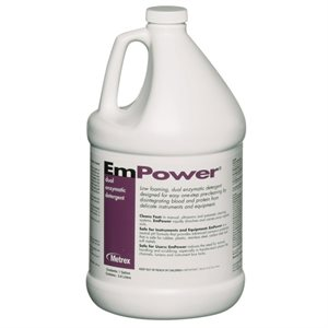 UNAVAILABLE - EmPower Dual-Enzymatic Detergent by Metrex (1 Gallon)