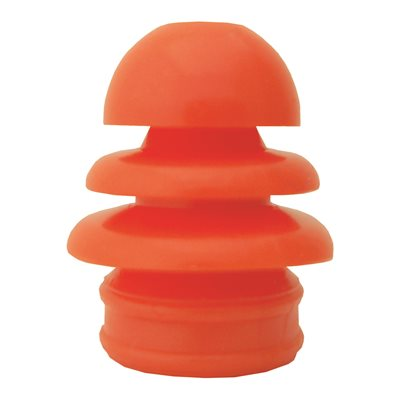 Grason Multi-Size Single Use Eartips - 10mm-14mm, Orange (100 / pk)