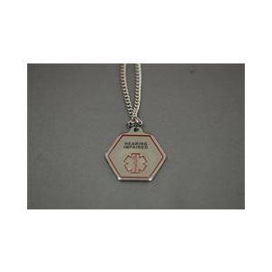 Medical Alert Pendant for Hearing Loss