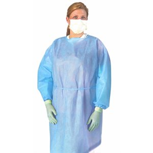 ** UNAVAILABLE - Medline Medium Weight, Multi-Ply Isolation Gown (each)