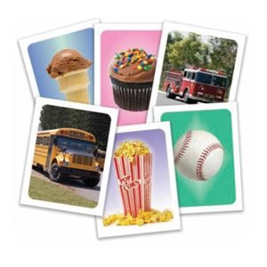 Pictoral Representations of Spondees (1 set of 18 cards, color)