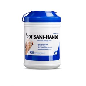 UNAVAILABLE - Sani-Hands Instant Hand Sanitizing Wipes (220 / canister)