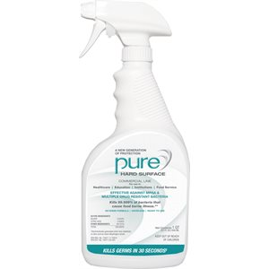 ** PURE Hard Surface Disinfectant Spray (32oz bottle)