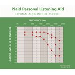 PLAID Personal Listening Aid (Gray Color)