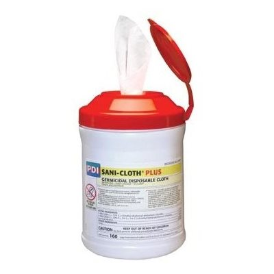 UNAVAILABLE - Sani-Cloth PLUS Disinfectant Wipes (160 / canister)