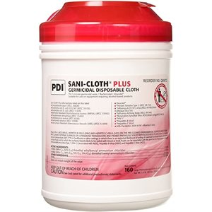 ** Sani-Cloth PLUS Disinfectant Wipes (160 / canister)