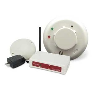 Silent Call Smoke Detector with Bed Shaker