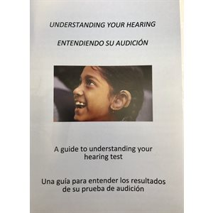 Understanding Your Hearing Test - English / Spanish  (100 / pk)