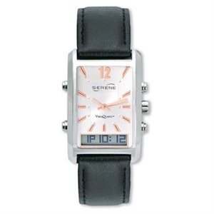 Serene Vibrating Alarm Dress Watch