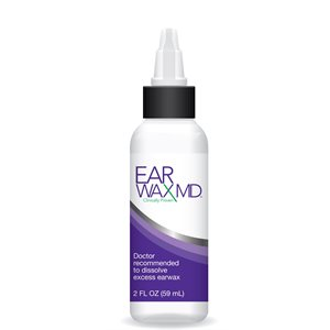 Earwax MD Clinical Bottle (2 oz)