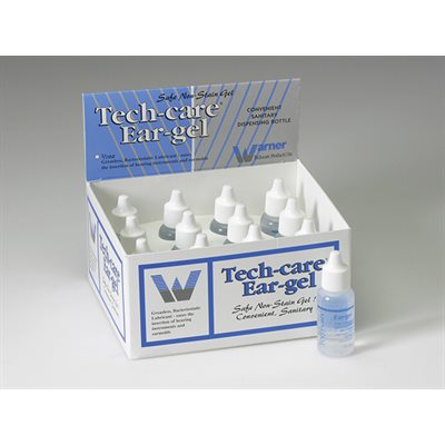 Ear Gel Display - 0.5 oz Bottle (BOX OF 12)