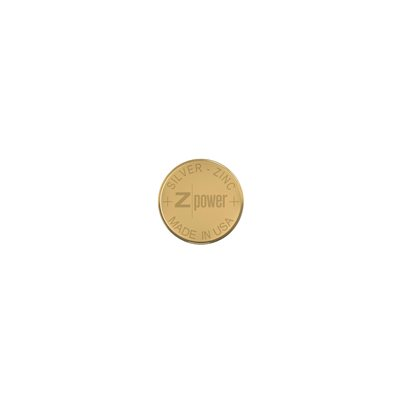 ZPower Silver-Zinc Rechargeable Microbattery, size 312 (1 / pack)