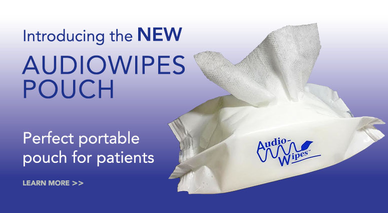Audiowipe Pouch banner 1